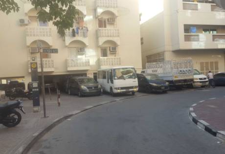 Commercial vehicles take over residential area