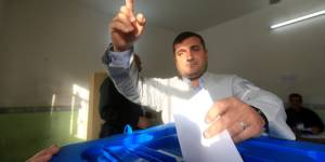 Kurds cast vote for independence