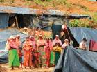 Mud and misery for refugees in Bangladesh