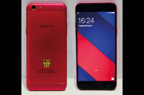 Oppo launches smartphone for Barcelona fans