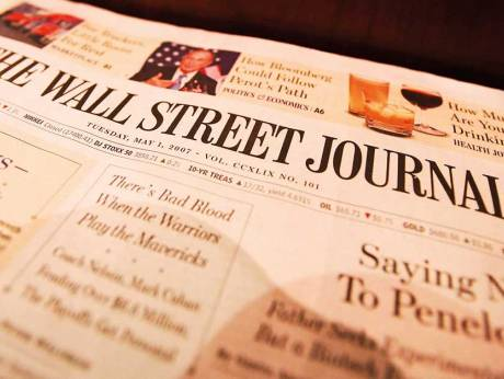'Wall Street Journal' to end print editions in Europe and Asia