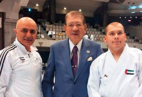 Emirati karateka makes history in Japan