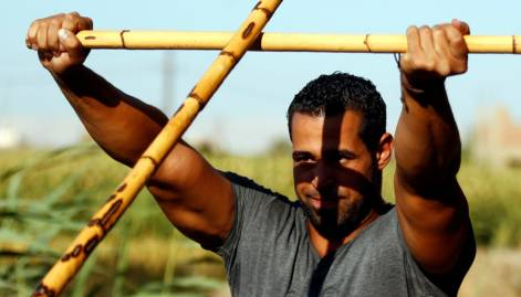 Ancient martial art revived in Egypt