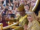 Pictures: Brunei sultan marks golden jubilee