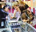Jewellery and watch show attracts heavy audience