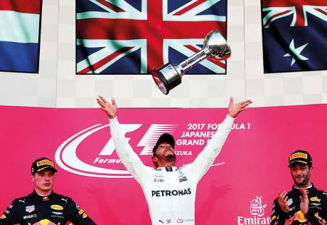 There is still a long way to go, Hamilton says