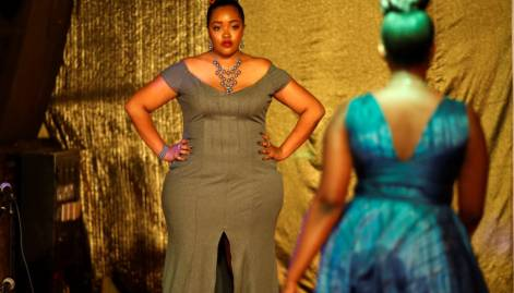 Plus size fashion show celebrates body diversity
