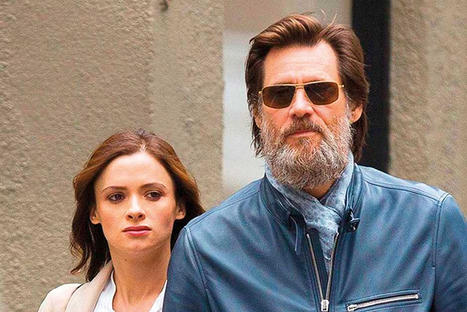 jim-carrey and  Cathriona White