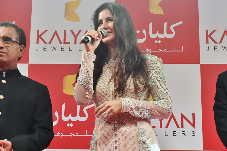 Katrina Kaif meets with fans at the new Kalyan Jewellers outlet in Deira Gold Souk
