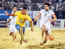 Cusco excited about growth of beach soccer