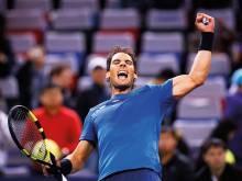True grit from Nadal to beat Dimitrov