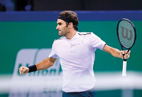 Another Rafa-Roger final, this time in Shanghai