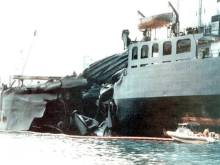 October 16, 1997: Tankers collide off Singapore