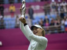 Sharapova takes first title since drugs ban
