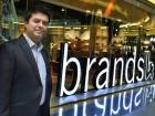 Vijay Samyani, managing director 'brands4U' at the new store at Reef Mall, Deira. Samyani hopes to open a second outlet in Abu Dhabi before year-end.