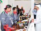 Shaikh Hamdan Bin Mohammad Bin Rashid Al Maktoum, Dubai Crown Prince, visited the exhibition held on the sidelines of the WorldSkills2017 at Abu Dhabi National Exhibitions Centre.