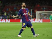 10-man Barca still too much for Olympiakos