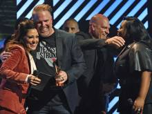 MercyMe wins artist of the year at Dove Awards