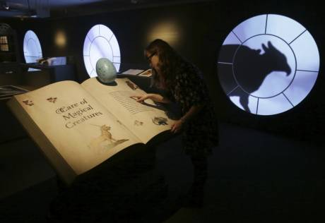 Potter exhibit marks 20 years of first book