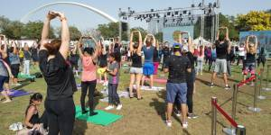 Pictures: Residents take up Fitness Challenge