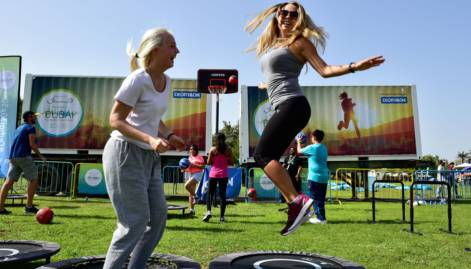 Pictures: Mixing fun and fitness in Dubai