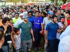 Shaikh Hamdan during the opening weekend carnival of 'Dubai Fitness Challenge: 30X30' at Safa park
