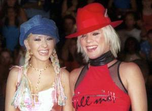 Pink says Christina Aguilera tried to punch her