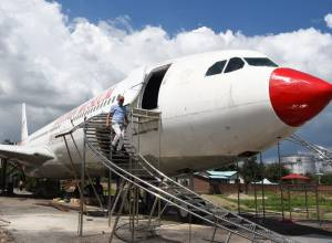Crashed plane turned into an aviation museum