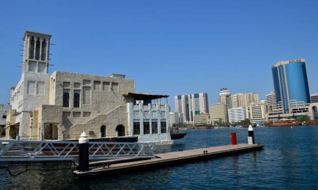Al Seef Heritage area gets a modern touch