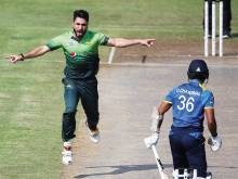 Usman wrecks Lanka to complete 5-0 sweep
