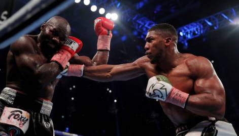 Anthony Joshua stops Carlos Takam in 10th by TKO