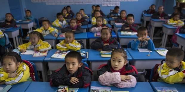 China's 'Red Army' schools inspire the young