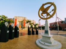 Playing the Hunger Games at Dubai Parks