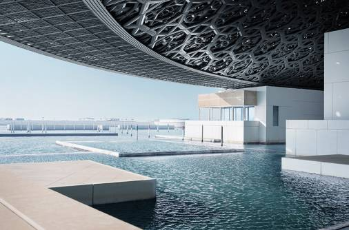 Peek into other museums at Louvre Abu Dhabi