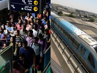 Watch: Dubai Metro serves millions