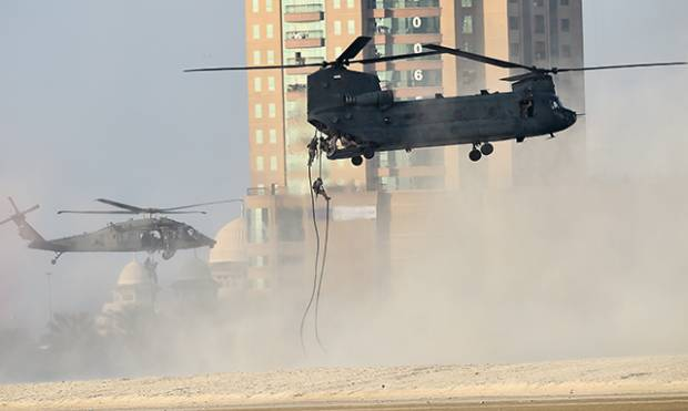UAE Armed Forces wow residents