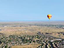 Balloon rides, natural wonders in New Mexico