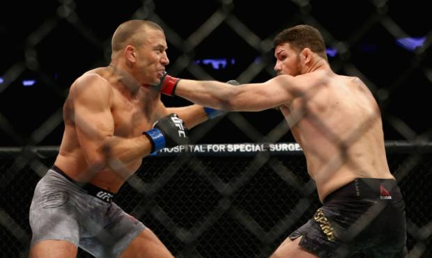 GSP wins middleweight title in UFC comeback