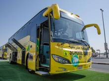 Is this the first electric school bus in Dubai?