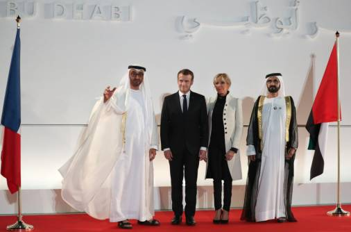 Leaders, French president open Louvre Abu Dhabi
