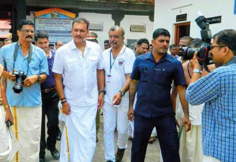 Shastri feels blessed in God's Own Country