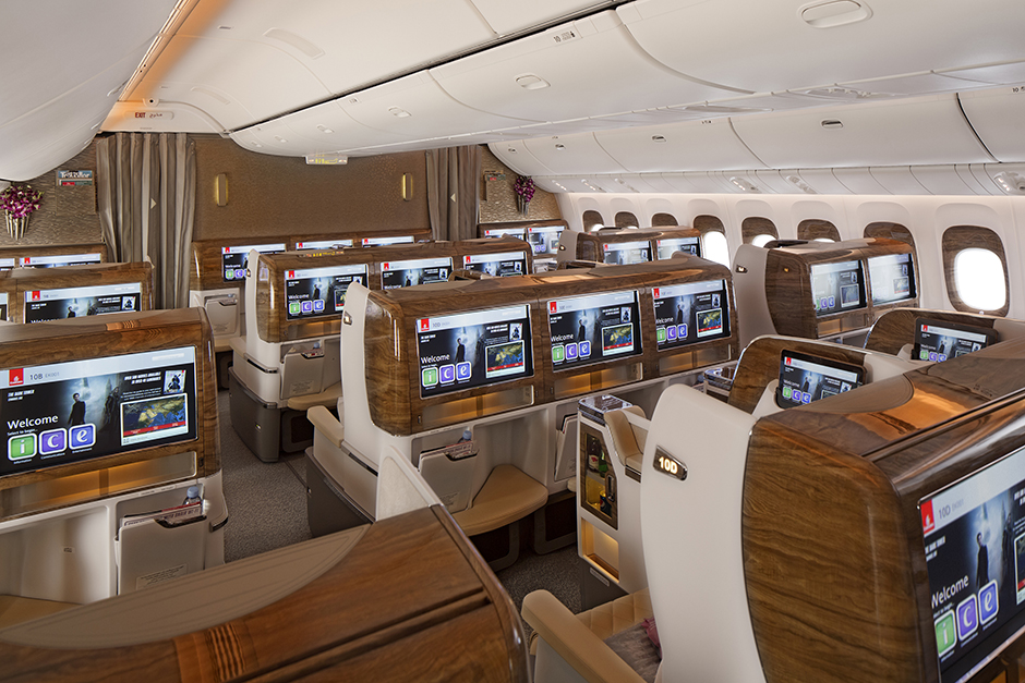 Emirates unveils new cabins for its Boeing 777 fleet