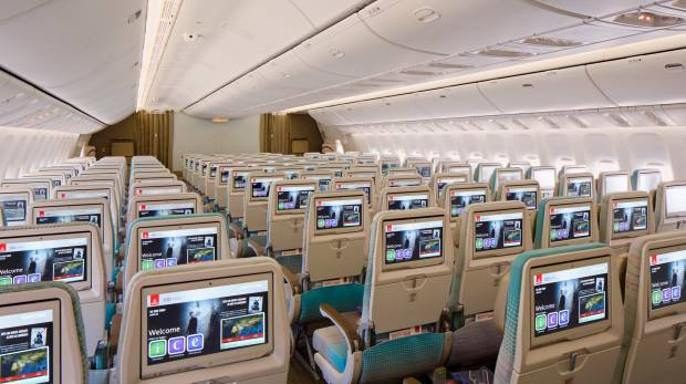 Emirates unveils its new economy class cabin for its Boeing 777 fleet
