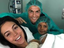 Ronaldo becomes dad for fourth time