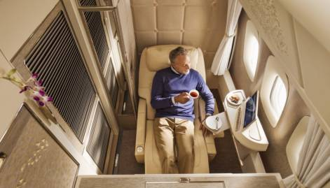 Look: Emirates' new First Class cabin