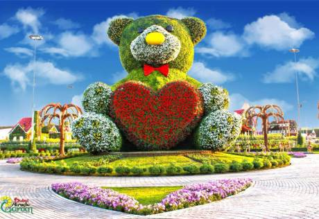 Look: New attractions at Dubai Miracle Garden