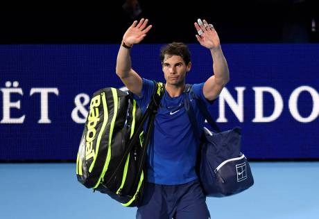 Injured Nadal pulls out of ATP Tour Finals