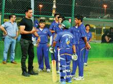 Dhoni: Don't try the helicopter shot early