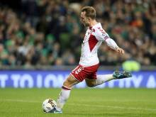 Eriksen hits treble as Danes storm to World Cup