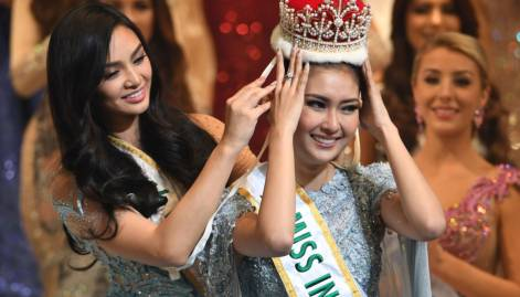 Indonesian beauty crowned Miss International